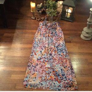 Kensie Chiffon Maxi Dress